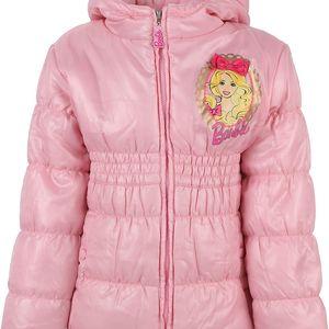 Dívčí kabátek s kapucí Barbie vel. 7 - 8 let, 128 cm