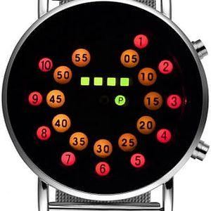 Pánské hodinky s originálním zobrazením času - 2 barvy