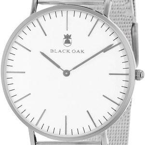 Stříbrné pánské hodinky Black Oak Steel - doprava zdarma!