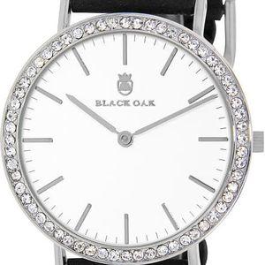 Černé dámské hodinky Black Oak Boho Diamond - doprava zdarma!