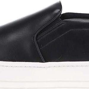 Černé dámské loafers na platformě ALDO Casan