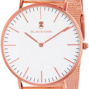 Růžové dámské hodinky Black Oak Steel - doprava zdarma!