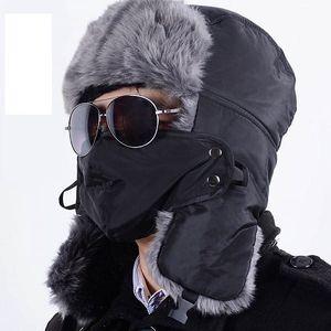 Unisex zimní čepice do větru - 6 barev