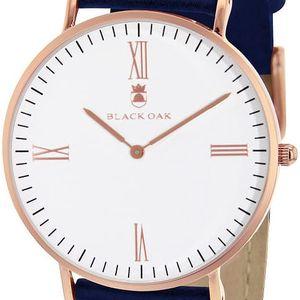 Modré dámské hodinky Black Oak Old Timer - doprava zdarma!