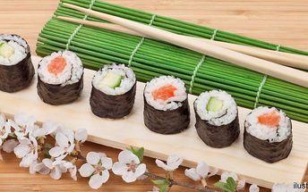 Čerstvé sushi: 32 parádních kousků s sebou