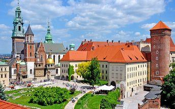 Dovolená v kouzelném Krakově se snídaní pro DVA na 3 a více dní