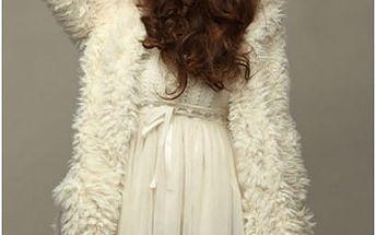 Huňatý svetr s kapucí Bear