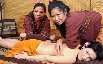 Thajská relaxace: Masáž od skutečných odbornic