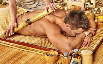 Masáž dle výběru 1 až 5x 30 či 45 min.: klasická, bambusová, čokoládová, medová či havajská