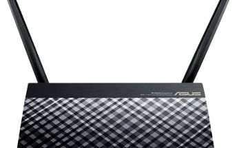 Asus RT-AC750 Dualband Wireless AC750 Router, 4x 10/100 RJ45, 1xUSB2.0