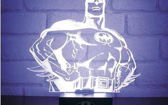 Dekorační lampička Superhrdina