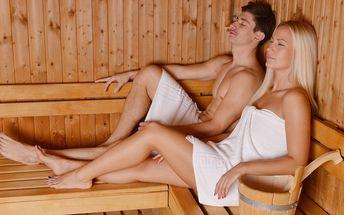 Romantika v privátní sauně pro dva