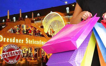 Zájezd do adventních Drážďan s možností nákupu v Primarku pro jednoho