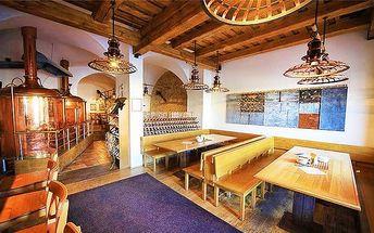3denní pobyt s degustací piva pro 2 osoby v hotelu Černý orel v Kroměříži
