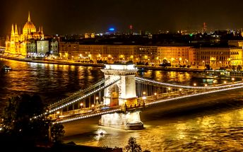 Pobyt v Budapešti pro DVA se snídaněmi v komfortním 4* hotelu v centru