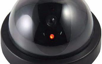 Falešná bezpečnostní kamera s červeným světýlkem