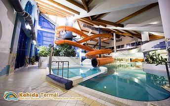 Pravá wellness dovolená se spoustou atrakcí v Kehida Thermal Resortu ****