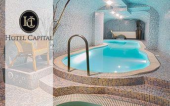 Víkendový relax v luxusním hotelu Capital**** v centru Nitry