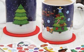 Ozdob si svůj vánoční hrnek