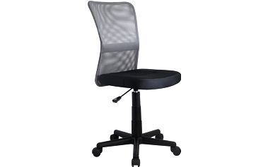 Dětská židle DINGO, černo-šedá