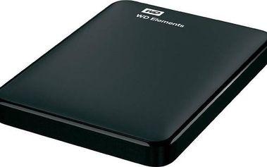 Western Digital Elements Portable 1TB (WDBUZG0010BBK-EESN) černý