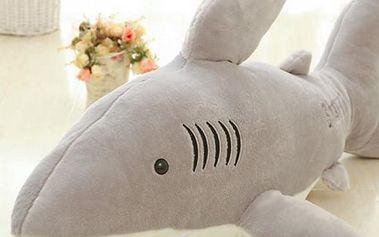 Plyšový žralok - 70 cm