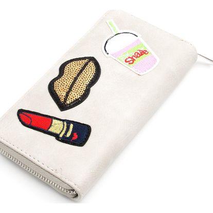 Fashion Icon Dámská peněženka LipStar velká