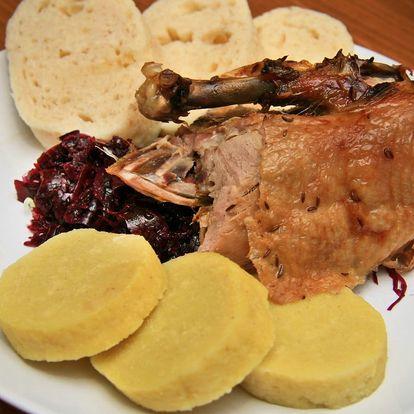 Dozlatova pečená kachnička v Krčmě ve Mlejně