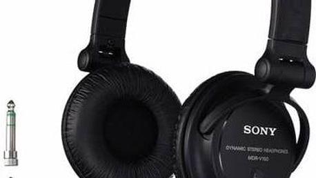 Sluchátka Sony v černé barvě se skvělým poměrem cena/kvalita zvuku