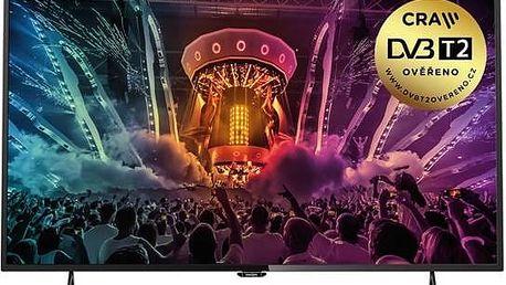 Ultra HD LED televize Philips s úhlopříčkou 123 cm