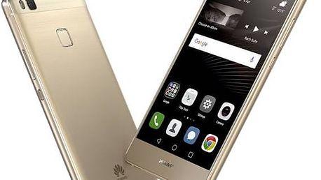 Mobilní telefon Huawei P9 lite Dual SIM ve zlaté barvě se skvělým hodnocením