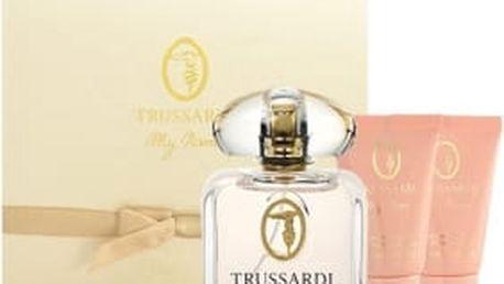 Trussardi My Name Pour Femme dárková kazeta pro ženy parfémovaná voda 30 ml + sprchový gel 30 ml + tělové mléko 30 ml