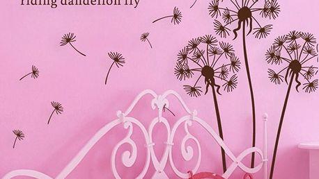 Samolepka Ambiance Dandelion Flowers