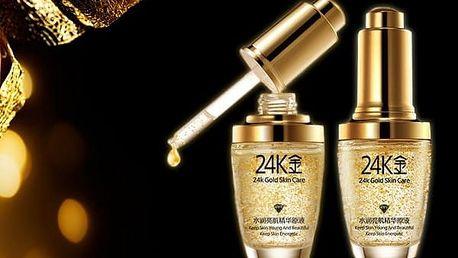 Zlaté sérum s částečkami 24 karátového zlata 30ml