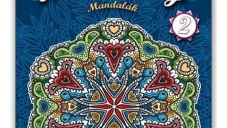 Antistresové omalovánky - Mandaly v bloku - dodání do 2 dnů