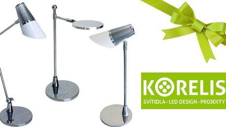 Stmívatelné dotykové LED lampy na pracovní stůl i noční stolek
