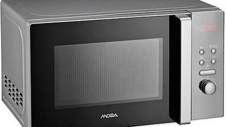 Mikrovlnná trouba Mora s funkcí rozmrazování a skvělým poměrem cena/výkon