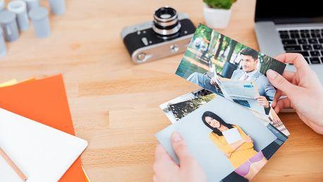 Vyvolání 100 nebo 200 ks fotografií 9x13 cm nebo 10x15 cm na kvalitním fotopapíru Fuji CA.