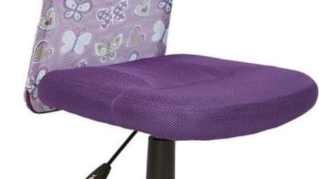 Dětská židle DINGO, fialová