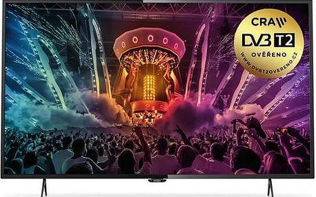 Televize Philips 49PUS6101 černá + Doprava zdarma