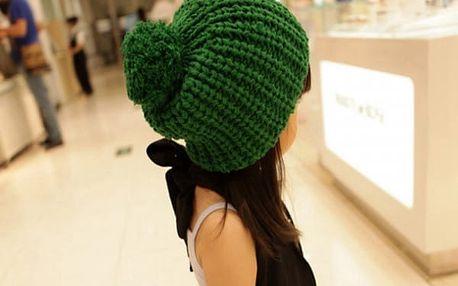 Pletená čepice pro děti i dospělé - 9 barev