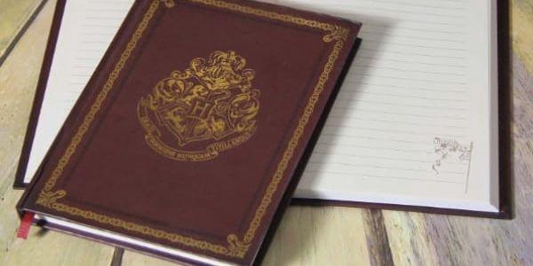 Zápisník Bradavice Harry Potter