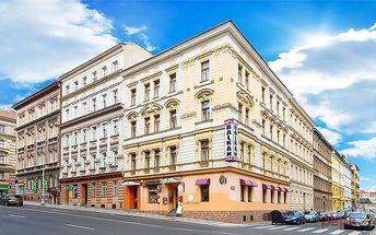 2–4denní pobyt s možností sauny pro 2 osoby v Praze v hotelu Balkán***