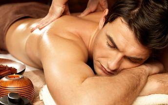 60min. masáž dle výběru ve Studiu Anabella - lávové kameny, čokoládová, baňkování a další
