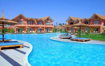 Silvestr u moře: Egypt - Hurghada na 8 dní, all inclusive s dopravou letecky z Prahy nebo Vídně