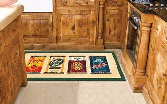 Vysoce odolný kuchyňský koberec Olive Oil & Co., 60x115 cm