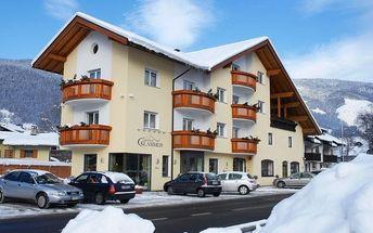Silvestr na horách: Itálie - Valle Isarco na 4 až 6 dní, polopenze s dopravou vlastní