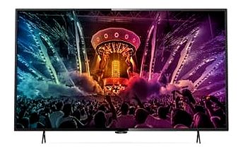 Philips 43PUS6101 - LED televize, 108cm, Ultra HD, DVB-T2/C/S2, Smart TV, black; 43PUS6101/12