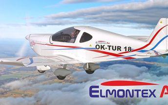 Předváděcí let ve sportovním letounu