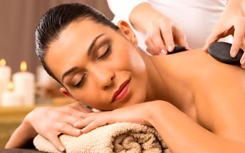 Uvolnění těla: 55minutová masáž lávovými kameny